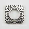 "Коннектор ""Квадрат"" (1-1) 18х18 мм (цвет - античное серебро)"