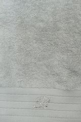 Набор полотенец 2 шт Blumarine Crociera серебро