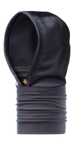Шарф-капюшон непродуваемый Buff Black
