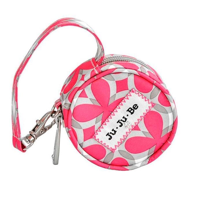 Сумочка для пустышек Ju-Ju-Be Paci Pod Pink pinwheels