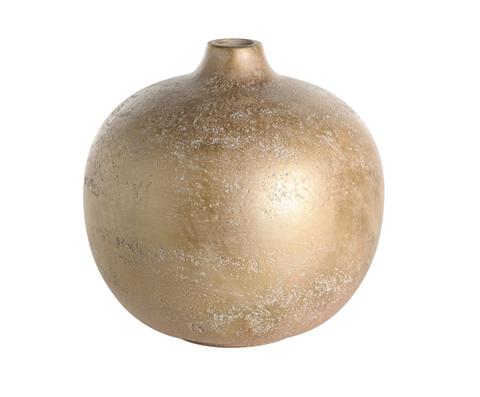Элитная ваза напольная декоративная шарообразная от Farol