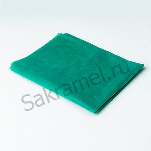 Простыня люкс (Спанбонд, зеленый, 200х70 см, 10 шт/упк, штучно)