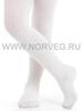 Колготки ажурные из шерсти мериноса Norveg Casual Offwhite детские