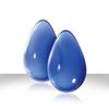 Женские вагинальные шарики большие из стекла Crystal Glass (5х3,2 см; 140 гр.)