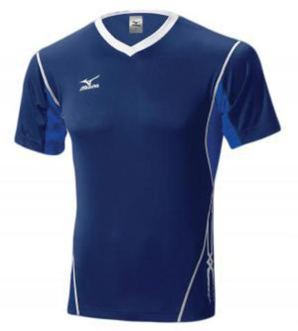Футболка волейбольная Mizuno Premium Top синяя