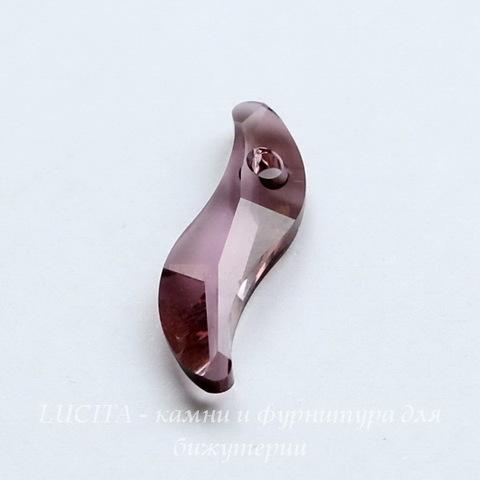 6525 Подвеска Сваровски Wave Crystal Antique Pink (19 мм) ()
