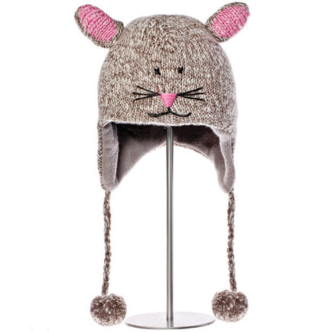 шапка с ушами Knitwits Mimi the Mouse