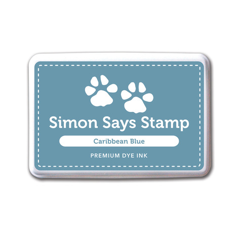 Архивные чернила Simon Says STAMP! Caribbean Blue