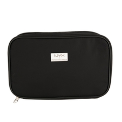 NYX Косметичка BLACK LARGE DOUBLE ZIPPER MAKEUP BAG