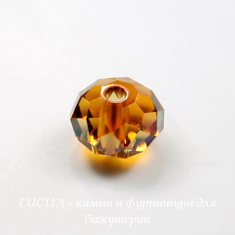 5040 Бусина - рондель с огранкой Сваровски Crystal Copper  6 мм ()