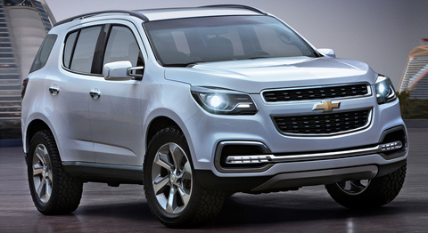 Гарант Консул 06021.R для CHEVROLET TRAILBLAZER /2013-/А+ P