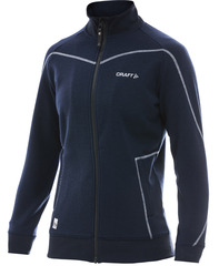 Куртка флисовая женская Craft In the Zone синяя