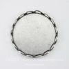 Сеттинг - основа для камеи или кабошона 18 мм (оксид серебра) ()