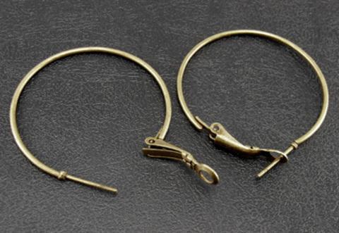 Швензы - кольца, 35 мм (цвет - античная бронза) ()