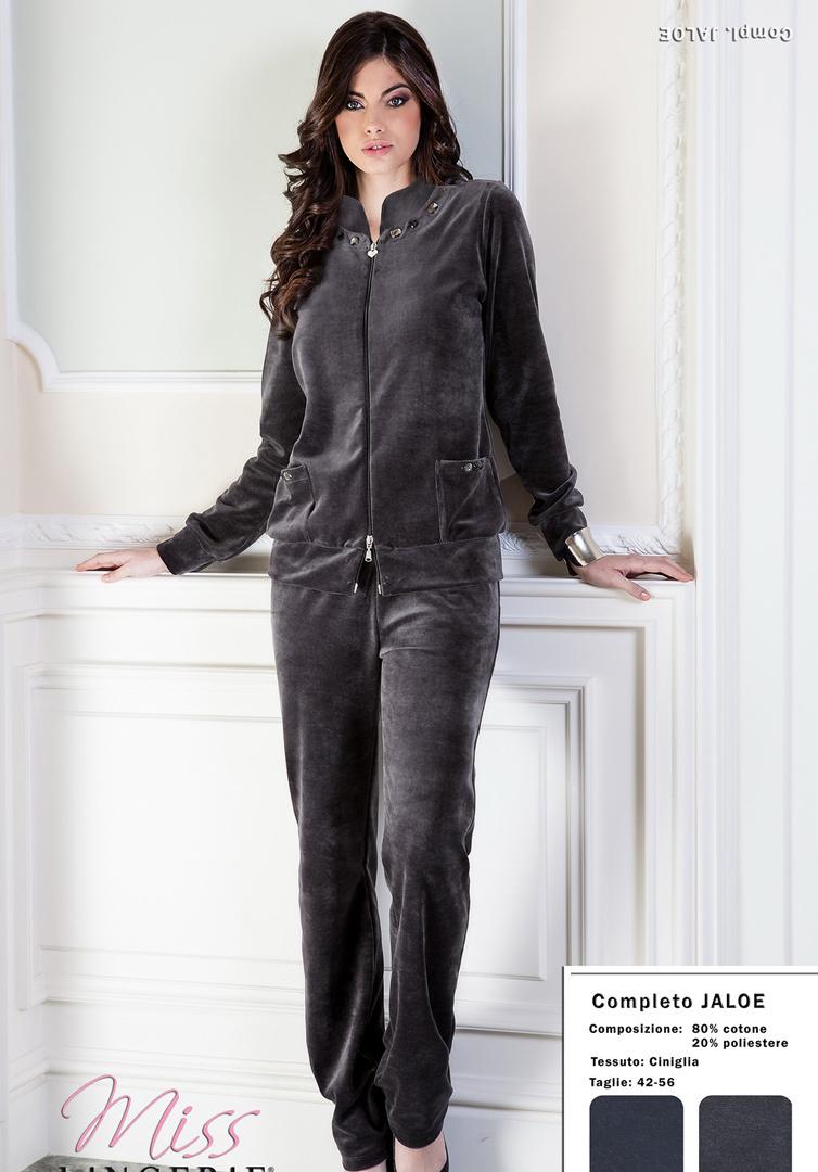 Женский велюровый костюм DiBen (Домашние костюмы и пижамы)