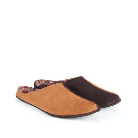 777137 туфли домашние мужские охра. КупиРазмер — обувь больших размеров марки Делфино