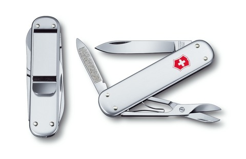 Нож карманный Money Clip Alox Victorinox (0.6540.16)