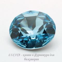 1201 Ювелирные стразы Сваровски Aquamarine (27 мм)