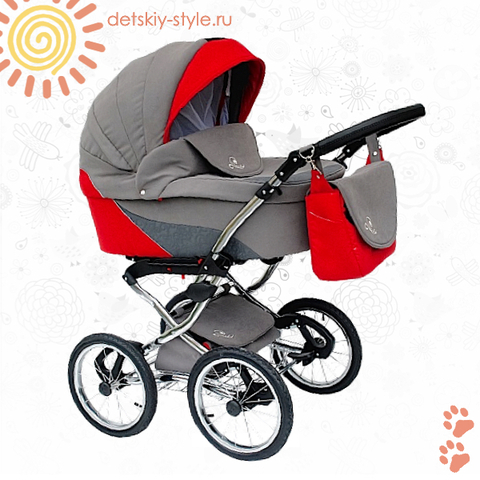 """Коляска Stroller B&E """"Maxima Brilliance"""" 3в1"""