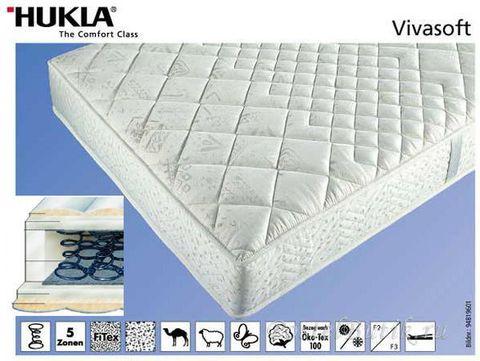 Матрас ортопедический Hukla Vivasoft 80x200 до 100 кг