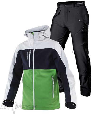 Лыжный утепленный костюм Neptun Grassi Green мужской
