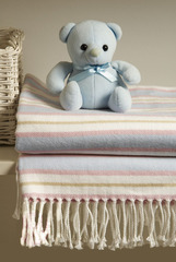 Плед детский 100х150 Luxberry Lux 10060 розовый