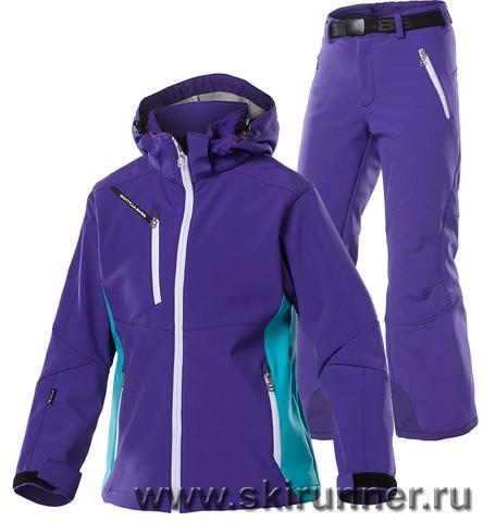 Лыжный костюм детский 8848 Altitude Apex Purple Wilbur