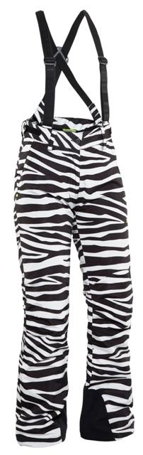 Женские горнолыжные брюки 8848 Altitude AMI zebra (6795Н6)