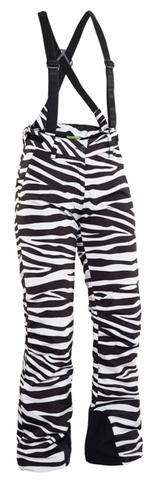 Горнолыжные Брюки 8848 Altitude Ami женские Zebra Black