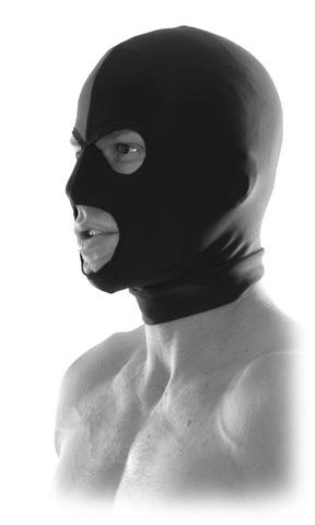 БДСМ шлем Spandex Hood черная