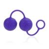 """Силиконовые вагинальные шарики со смещенным центром тяжести """"O"""" Balls Posh (3,75 см.; вес 80 гр)"""