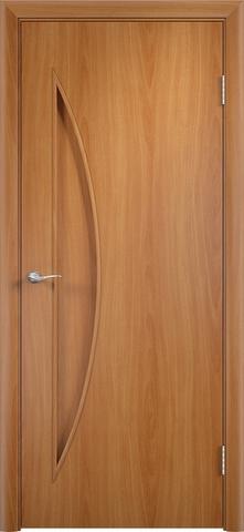 Дверь Верда C-6, цвет миланский орех, глухая