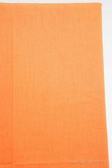 Наволочки 2шт 50x70 Caleffi Raso Tinta Unito оранжевые