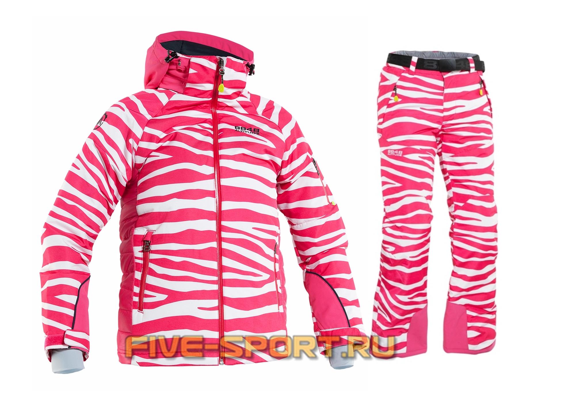 Костюм 8848 Altitude Rosalee/Cornwall детский Cerise Zebra