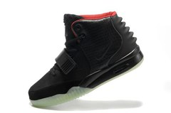 Кроссовки мужские Nike Air Yeezy 2 Black by Kanye West