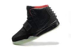 Кроссовки мужские Nike Air Yeezy 2 Black by Kanye West