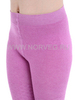 Колготки ажурные из шерсти мериноса Norveg Casual Pink детские