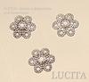 Шапочка для бусины (цвет - античное серебро) 10х9,5 мм, 10 штук ()