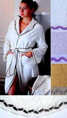 Элитный халат махровый Greta от Timas