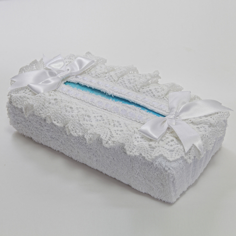 Салфетница для бумажных полотенец Rombetti белая от Old Florence