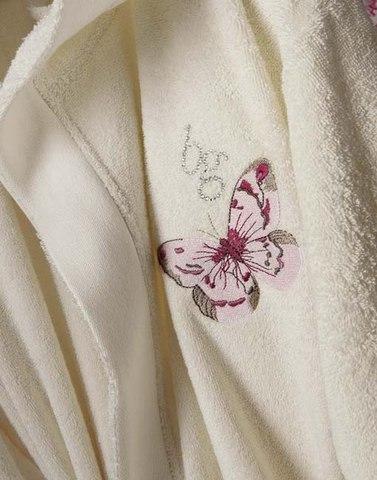 Элитный халат женский махровый Castadiva Слоновая кость от Blugirl