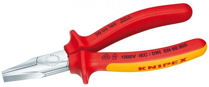 Плоскогубцы электроизлированные 160мм Knipex KN-2006160