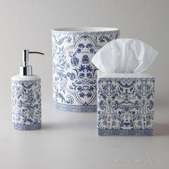 Дозатор для жидкого мыла Orsay Blue от Kassatex