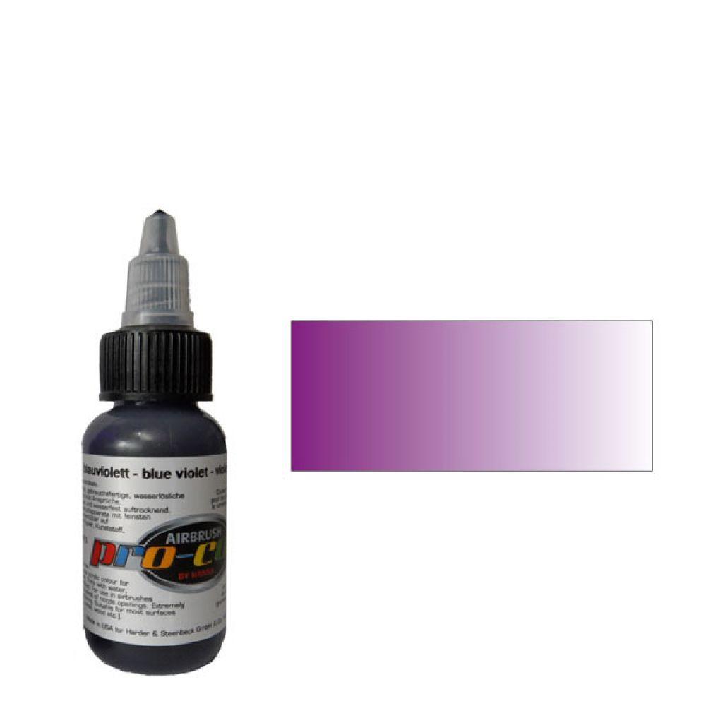 60013 Краска для аэрографии Pro-Color Blue Violet (СИНЕ-ФИОЛЕТОВЫЙ) 30мл. укрывистый