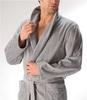 Элитный халат велюровый 1614 серый от Joop! - Cawo