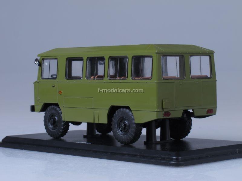 GAZ-66 AMS-66 Army Bus khaki 1:43 Start Scale Models (SSM)