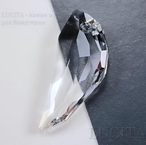 6150 Подвеска Сваровски Клык Crystal  (30 мм) ()