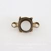 Сеттинг - основа - коннектор (1-1) для страза 7 мм (оксид латуни)
