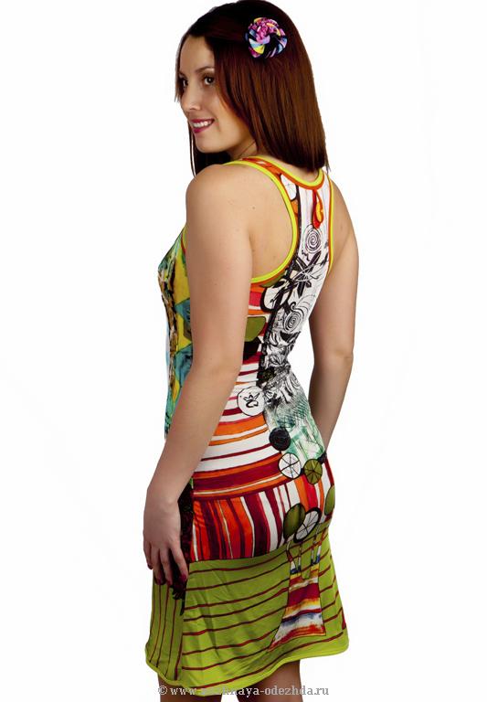 Женское летнее платье Save The Queen