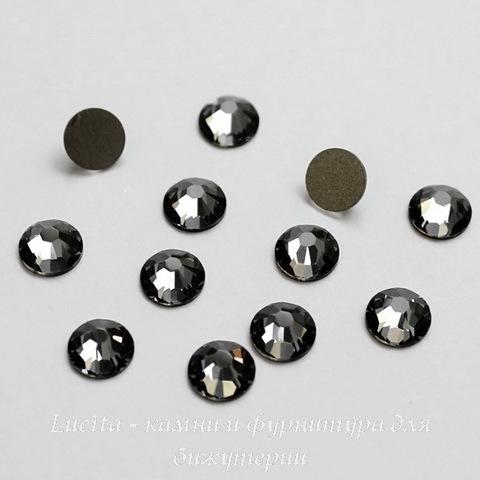 2028/2058 Стразы Сваровски холодной фиксации Crystal Silver Night ss30 (6,32-6,5 мм)